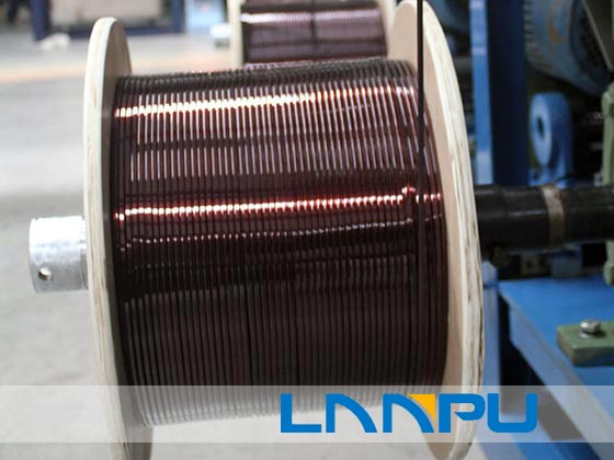 enameled flat copper wire manufacture
